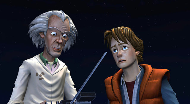 Back to the Future: The Game – Cinematic Artist